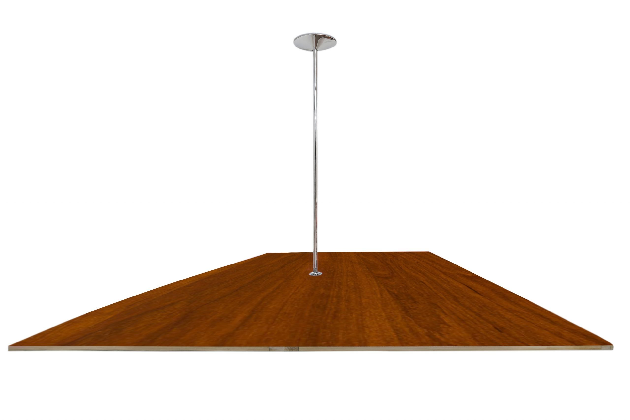 Pole Dance Floor Wood finish Rich Cherry