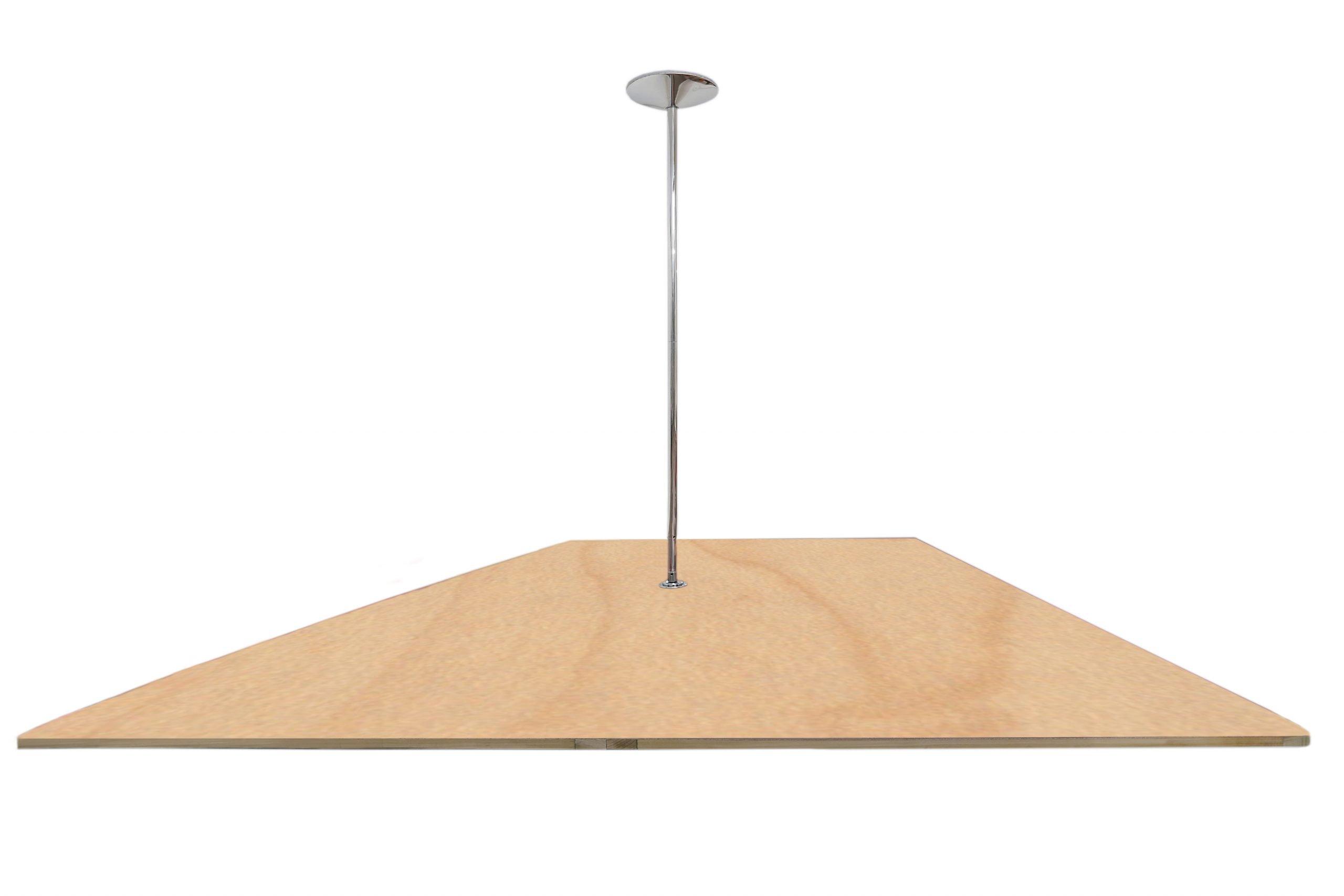 Pole Dance Floor Wood finish Maple
